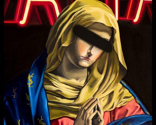 Ysley. Oil on canvas 130 x 90 cm