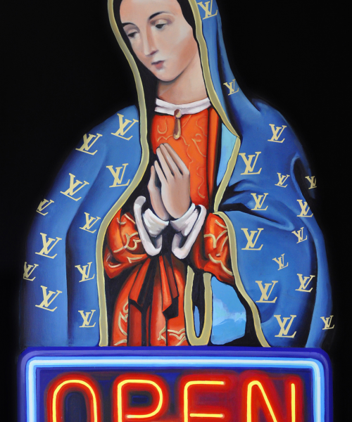 Vida loca Óleo sobre lienzo. 130 x 90 cm. 2014