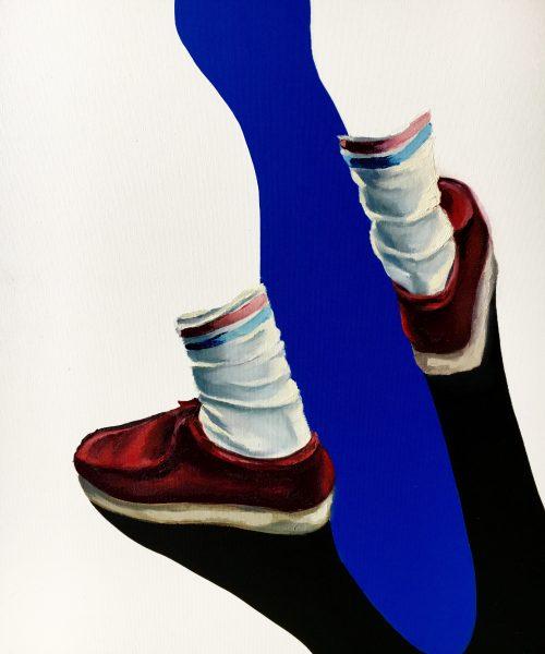 Wallas oil on canvas 74 x 60 cm